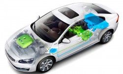 Υβριδικό Volvo S60L στο Πεκίνο. http://www.caroto.gr/?p=18569