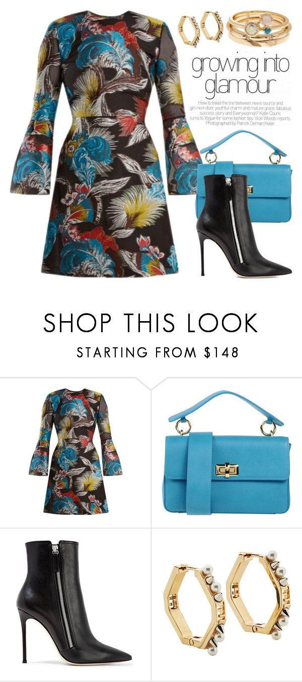 """Prints 5118"" by boxthoughts ❤ liked on Polyvore featuring Mary Katrantzou, Carla G., Gianvito Rossi, Fendi and Nordstrom Rack"