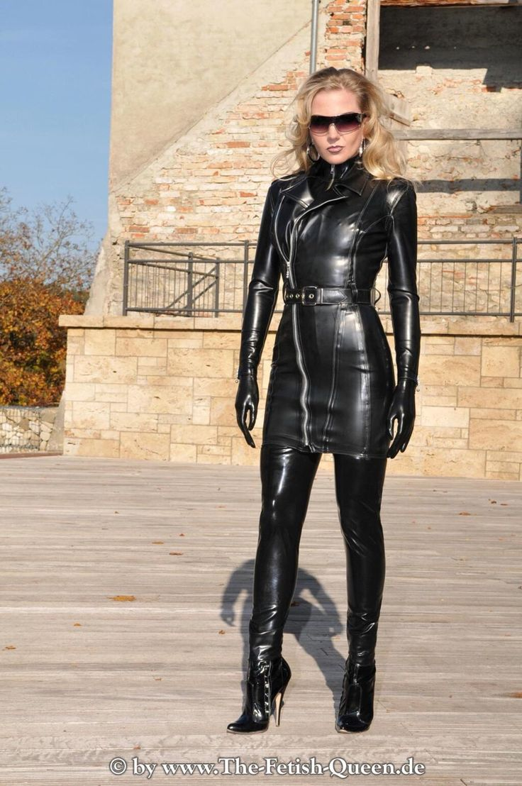 Leather Women Heaven Leather Boots Outfit Leather