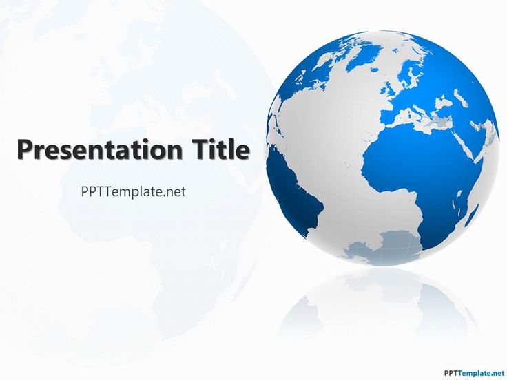 Free Geography PPT Template