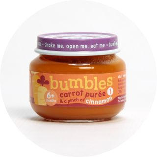 Bumbles™ Baby Food Carrot Purée and a pinch of Cinnamon on bumbles.co.za