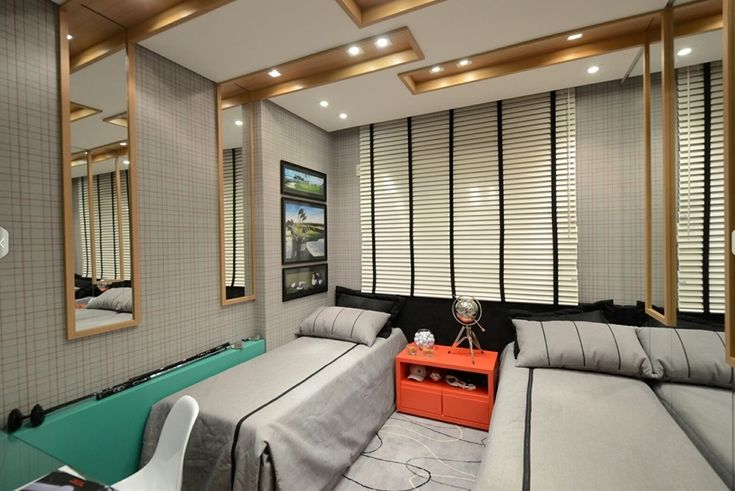 boys bedroom / quarto de menino / golf / apartamento decorado / home decor / bohrer arquitetura / interior design