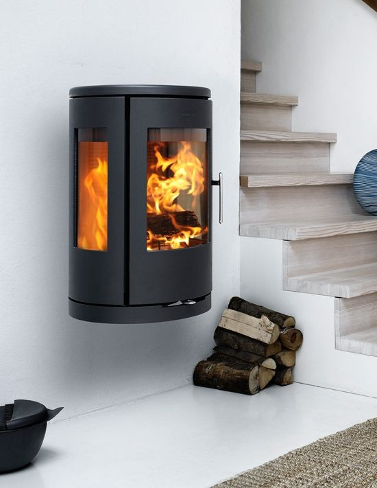 Buy the contemporary wall-hung Morso 7470 Stove from The Stove Yard,  official Morso stockists in Northern Ireland and Cheshire.