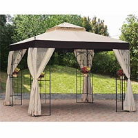 Big Lots Gazebo Replacement Canopy Covers and Netting Sets - Garden Winds