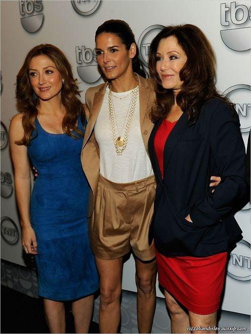 Sasha Alexander, Angie Harmon, and Mary McDonnell