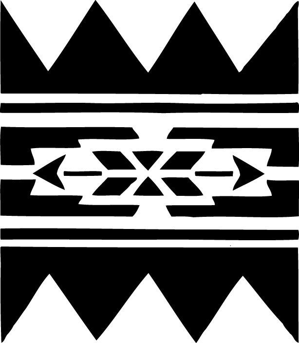Stencil pattern for quilting inspiration.