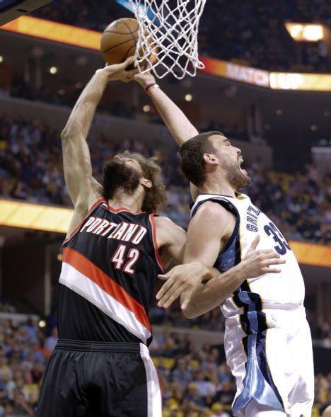 Trail Blazers vs. Grizzlies - Fotos - 4/19/2015 - ESPN Deportes