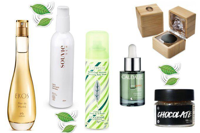 Beleza verde: 6 marcas que cuidam melhor da sua beleza e do mundo
