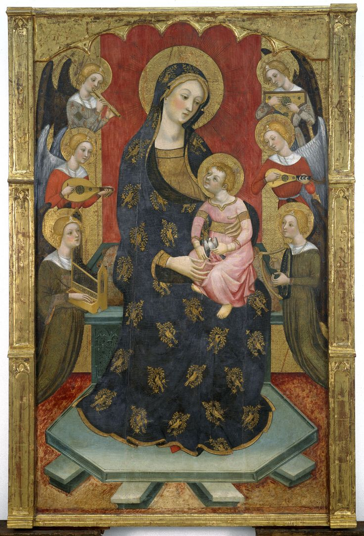 Virgen de los Ángeles | Museu Nacional d'Art de Catalunya