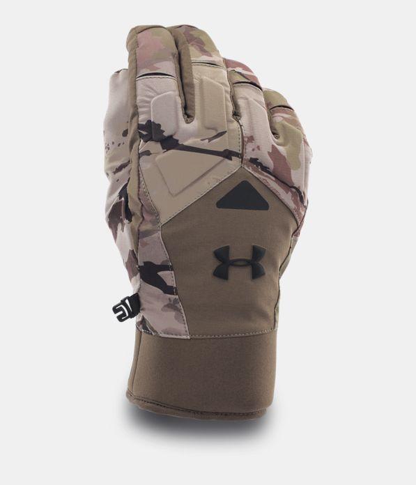 Men's UA ColdGear® Infrared Scent Control 2.0 Primer Gloves, RIDGE REAPER® BARREN