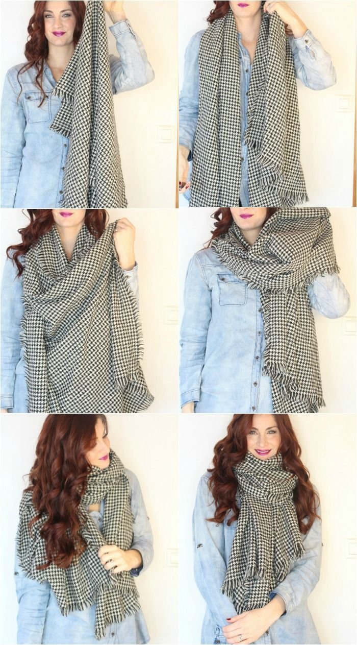 Simple Ways To Tie A Scarf