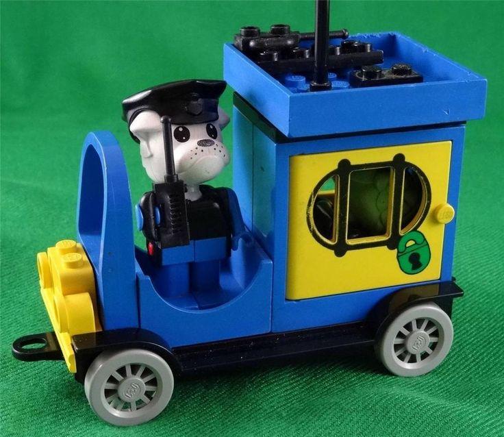 Vintage Lego Fabuland set 3639 PADDY WAGON (1984) same as 3643 POLICE VAN (1985)