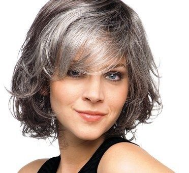 Stay Silver... — Fun silver & pepper cut and style!