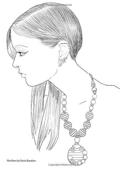 928 best COLORING - WOMEN images on Pinterest - best of coloring page of a hair brush