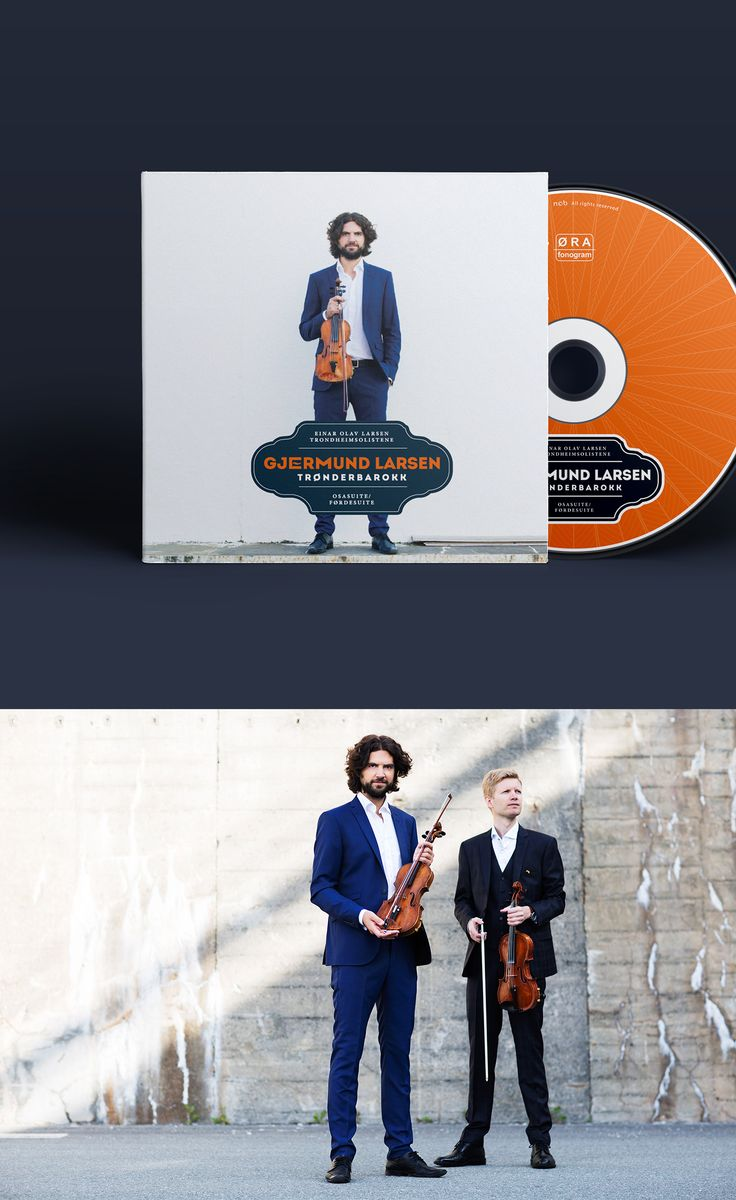 CD-cover for Gjermund Larsen by Klipp og Lim. Photo: Mari Vold.