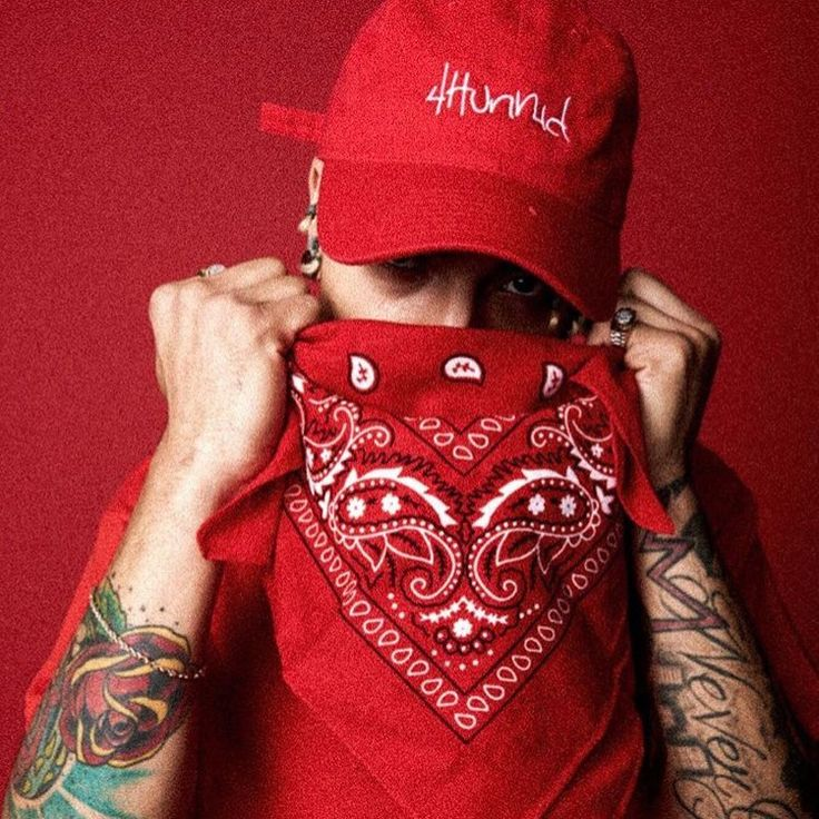#4Hunnid #YG #Blood #Kush #Bandana #Red #Piru #Bompton #Cali #OG #OG #Cali…