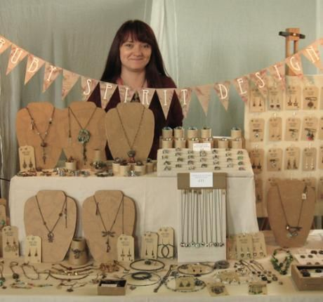 Excellent Blog Post from Chrissie Freeth about how to design and deliver an excellent looking craft stall. Loads of hint and tips