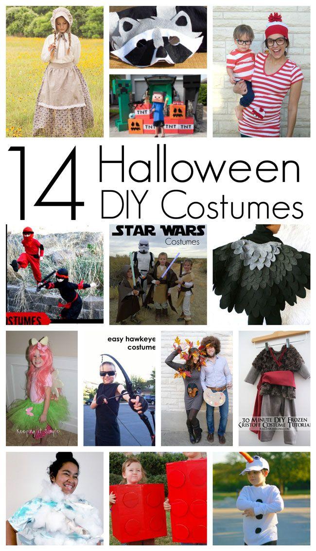 353 best Halloween Crafts ✂ images on Pinterest Halloween - halloween diy crafts
