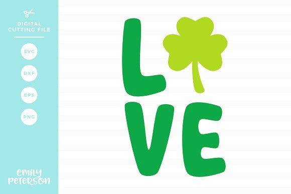Download Love Shamrock SVG DXF | Dxf, Eps, Svg