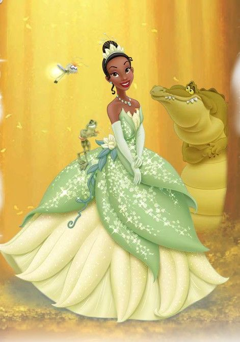 Day 2-Favorite Disney Princess-Tiana