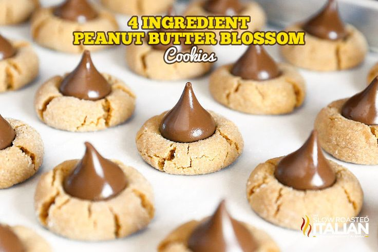 ... Cookies | Peanut blossoms, Thanksgiving and Honey roasted peanuts