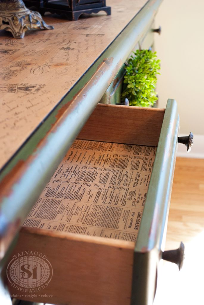 Mms Boxwood Dresser Some Bad Takes Good Advice Lining Drawersdistressed