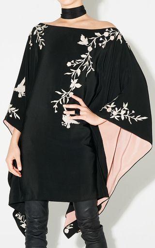 Embroidered Kimono Dress by Talitha | Moda Operandi