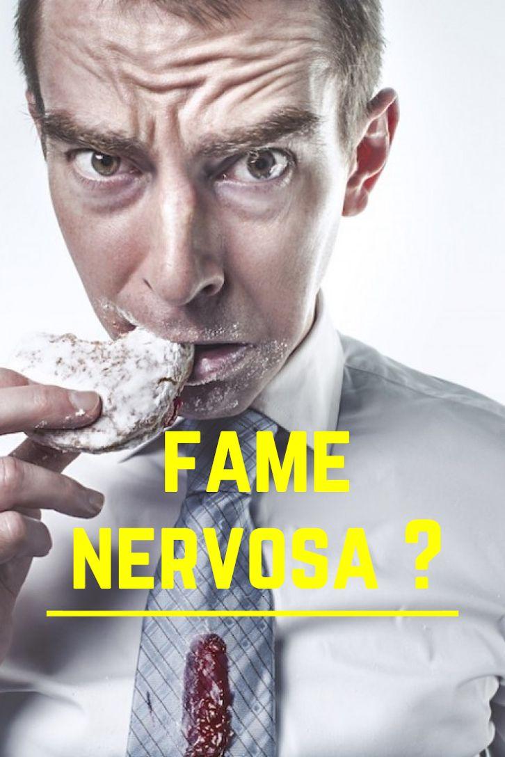 Fame: quando le situazioni ci rendono la vita difficile, aumenta l'appetito e scatta l'effetto fame nervosa. Vediamo cosa fare (5 consigli) #fame #fame_nervosa #alimentazione #nutrizione