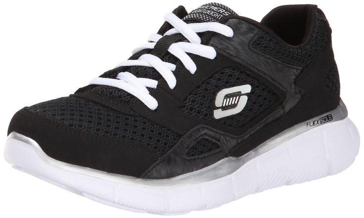 Skechers Kids 95515L Equalizer Sneaker,Black/White,12.5 M US Little Kid. Skechers memory foam insole. Lightweight and flexible. Non-marking outsole.