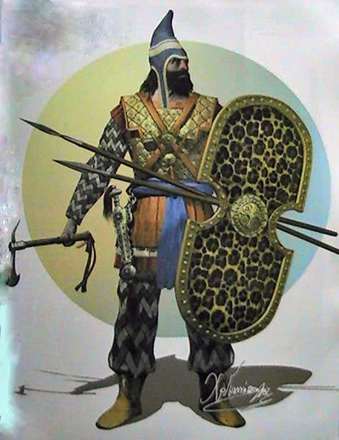 Pantea and General Aryasb were the commanders of the elite force of Persian soldiers who performed the dual roles of both Imperial Guard and standing army during the Persian Empire's expansion. Description from pinterest.com. I searched for this on bing.com/images