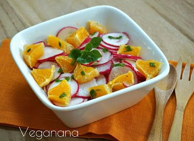 Salada de Rabanete com Laranja