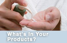 Campaign for Safe Cosmetics:Whats In Your Products?