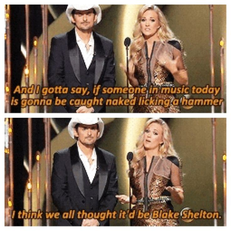 Carrie Underwood & Brad Paisley #CMAawards 2013