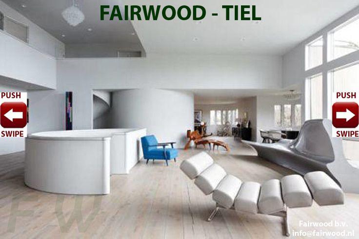Whitewash houten vloer; witte olie whitewash houten vloeren