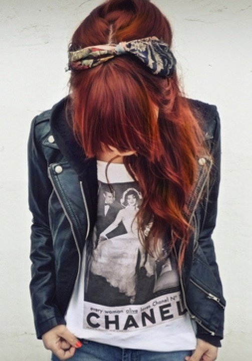 This photo along with the dream I had AFTER seeing this photo..is what encouraged me to dye my hair.