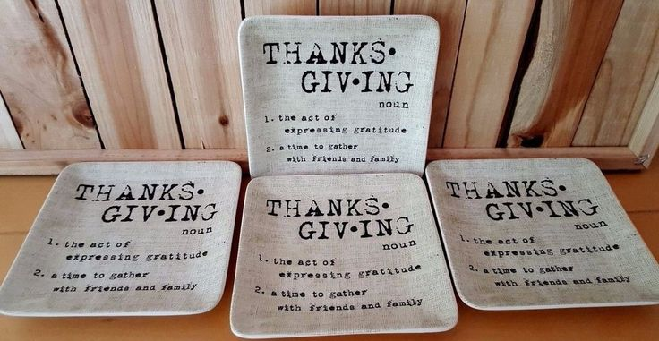 4 Pottery Barn Thanksgiving Fall Plates Side Appetizer Dessert Autumn #PotteryBarn