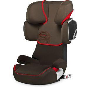 Cybex Solution X2-Fix es la silla de Grupo 2/3 con isofix mejor valorada en los ensayos de choque europeos.  Esta silla mejora todavía más la seguridad añadiendo un cojín de absorción lateral para minimizar los riesgos del niño en caso de impactos de costado.