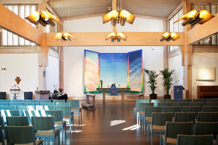 Maria kyrka, Jakobsberg, invigd 1981. Arkitekt: Lars Olof Torstensson. Foto: Ester Sorri.  Maria Church, Jakobsberg, inaugurated in 1981. Architect: Lars Olof Torstensson. Photo: Esther Sorri