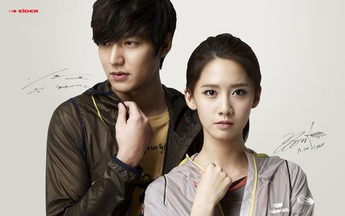 Snsd - Im Yoona & Lee MinHo #presenter