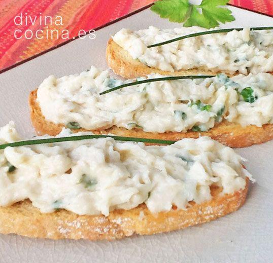 Brandada de bacalao -Recetas fáciles, cocina andaluza y del mundo. » Divina Cocina
