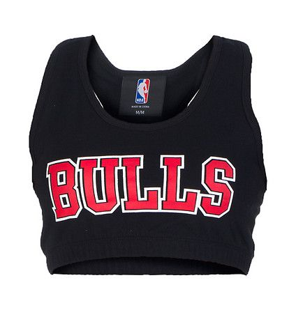 NBA 4 HER BULLS RACER BACK SPORTS BRA-UBMtolX4
