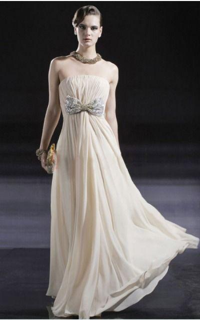 Zipper Floor-length Natural Sheath Chiffon Formal Dresses afea7576