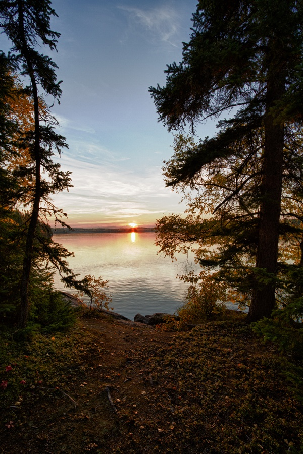 Nistowiak Lake, Saskatchewan