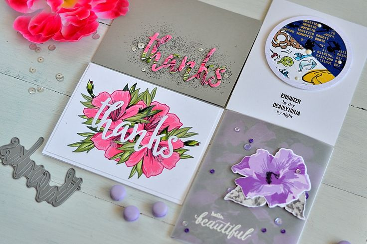 Sharing four cards made for Altenew March Release Blog Hop II using new Spring Azalea, Engineers Rule, Perennial Beauty stamp sets. Giveaway.