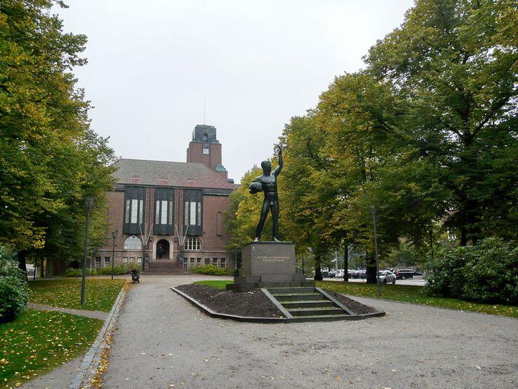 Lahti. City Hall - Lahti, Southern Finland