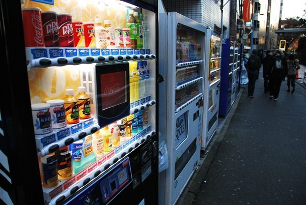 Vending Machines in Japan – Beer, Noodles and Anything Else!