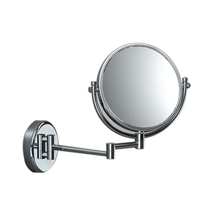 Sonia Wall Double Sided Cosmetic Makeup 2x Magnifying Mirror Swivel Extendable Mirror
