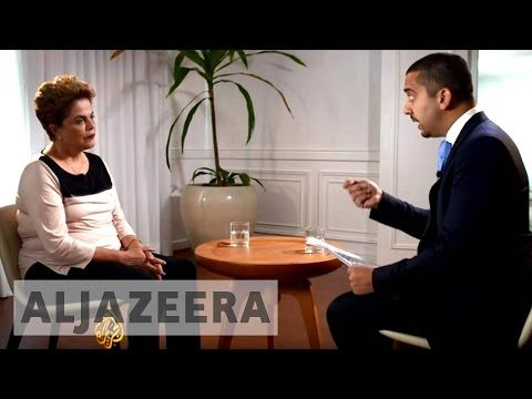 UpFront special: Brazil's Dilma on being betrayed - YouTube