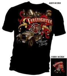 firefighter apparel   Catalog: Firefighter T-Shirts & Clothing - Hot Firefighter T-Shirts ...