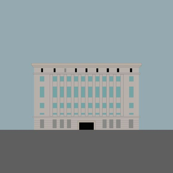 Berghain Illustration On Behance
